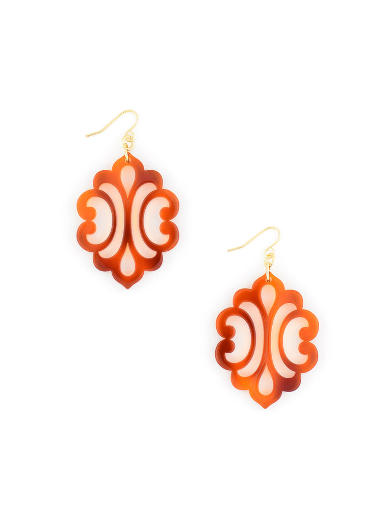 Zenzii Blooming Reflection Earring