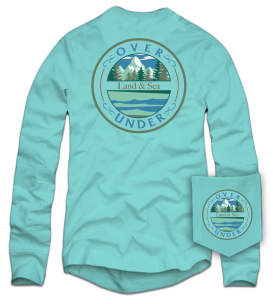 Land & Sea Mountain Long Sleeve Tee
