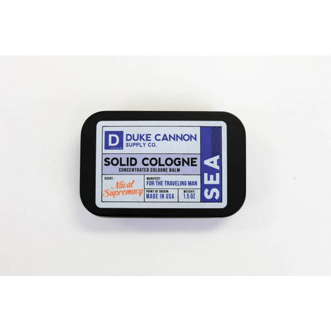 Solid Cologne Balm-Sea