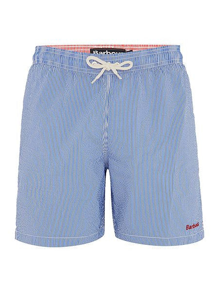 Striped Swim Short - Blue