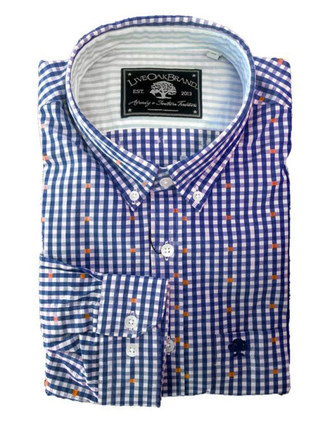 Live Oak Dobby Dress Shirt