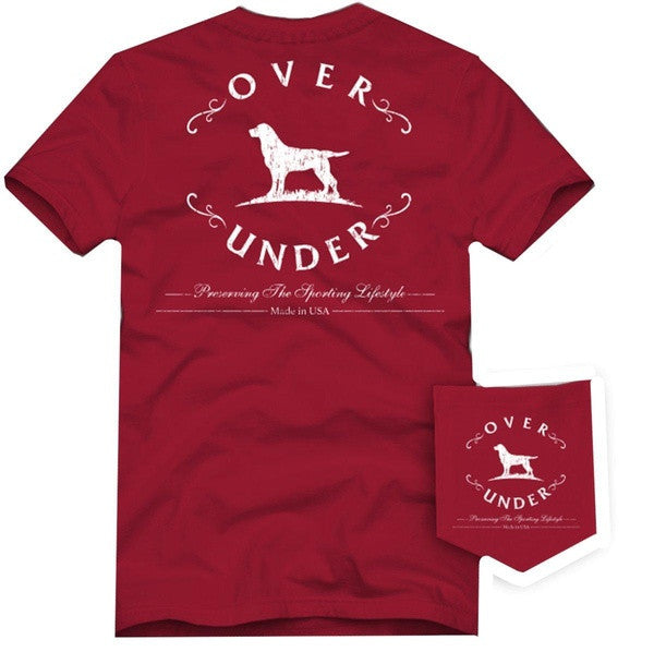 Antique Logo Short Sleeve Tee - Red