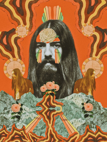 THE GEORGE HARRISON PRINT