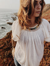 THE EMBROIDERED BLOUSE