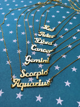 "THE ""WHATS YOUR SIGN BABY"" NECKLACE"