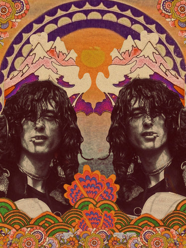 THE JIMMY PAGE PRINT