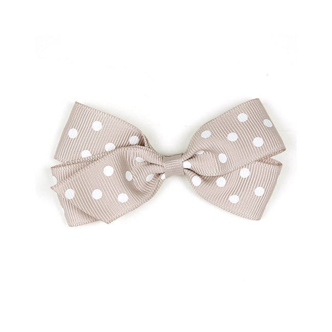 Verity Jones Medium Carmandy Polka Dot Hair Clip