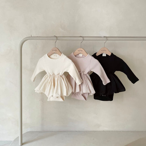 Monbebe New Ruffle Tutu Romper (3 Colours)