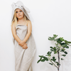 Liewood Rabbit Hooded Towel (Grey)