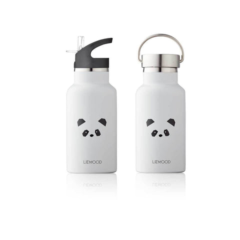 Liewood Anker Water Bottle (Panda Light Grey)