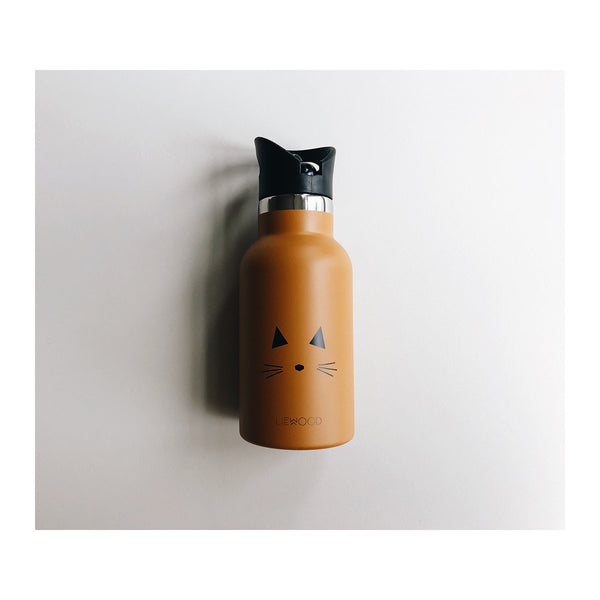 Liewood Anker Water Bottle (Cat Mustard)