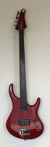 MTD Kingston Artist 4 String w/line Fretless