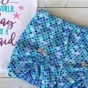 Mermaid Wishes - Peek-a-Boo Short ONLY