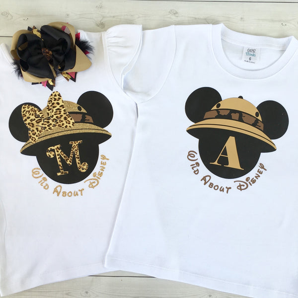 Wild About Disney Minnie-Inspired (GIRL) SHIRT ONLY