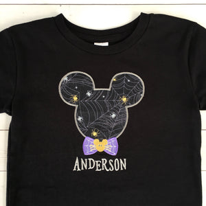 Hocus Pocus Perfection- Mister Mouse Boy SHIRT ONLY