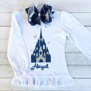 Snow Princess (Glitter Castle) Shirt ONLY