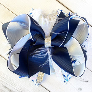 Snow Princess Boutique Hair Bow