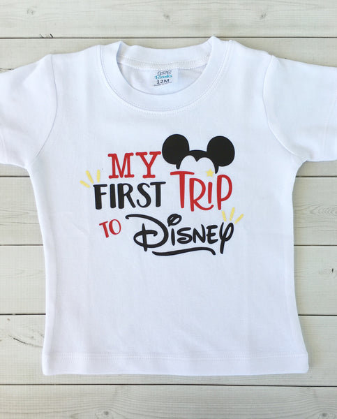 Wish Upon A Star - My First Trip *BOYS* Shirt ONLY
