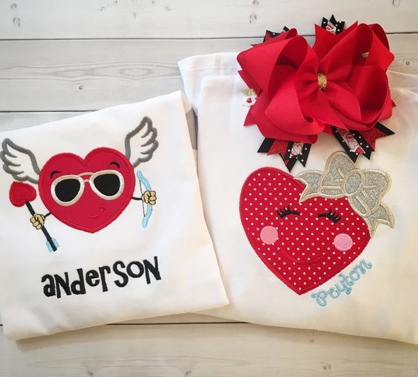 Cupid Coolness *BOYS* Embroidered SHIRT ONLY