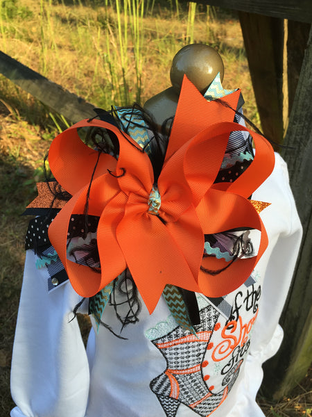 Spook-tacular Boutique Bow