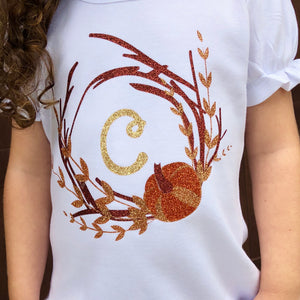 Autumn is Calling Glitter Frame SHIRT ONLY