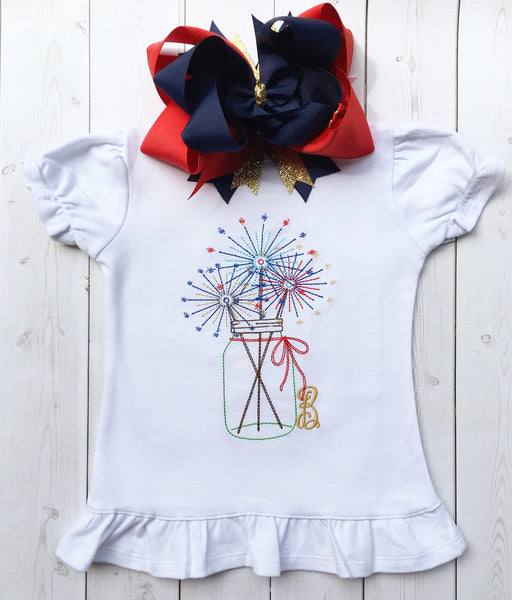 Summer Sparklers Peek-a-Boo Shortie Set