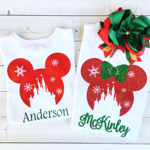 Christmas Magic Glitter SHIRT ONLY (Adult)