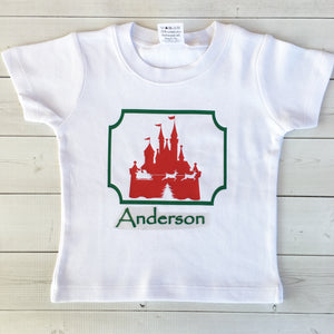 Christmas Castle Vinyl (Boy) SHIRT ONLY