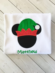 Jolly Christmas BOY Mouse Shirt Only