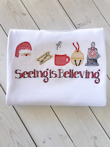 Seeing is Believing (Boy) Shirt Only