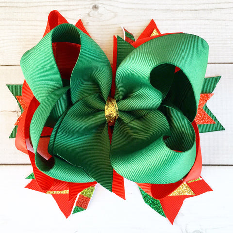 Christmas Magic Boutique Hair Bow