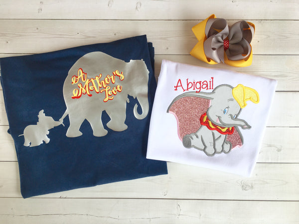 Women's Dumbo Inspired Vinyl Shirt ONLY