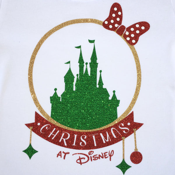 Jolly Christmas on My Disney Cruise Glitter SHIRT ONLY (Adult)