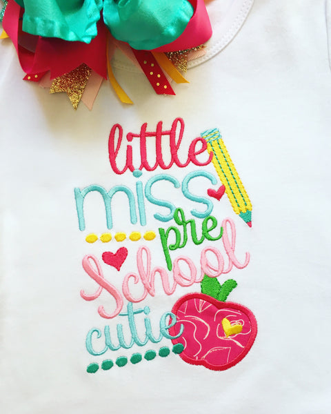 Classroom Jazz Little Miss SHIRT ONLY - ONLY (1) 2T Left!!!
