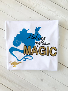 Magic Genie Inspired Boy SHIRT ONLY