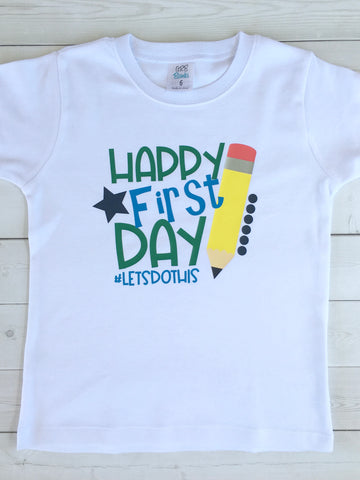 Smart Boy *First Day* SHIRT ONLY