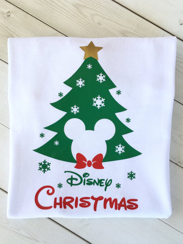 Christmas Tree Mister Mouse Shirt ONLY