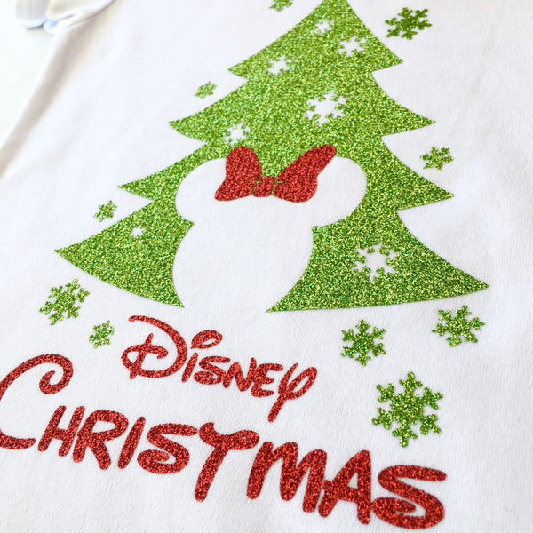 Christmas Tree Miss Mouse Shirt ONLY