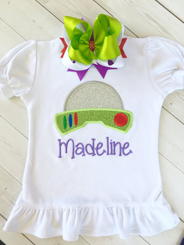 Toy Story Inspired Buzz Lightyear GIRLS SHIRT ONLY