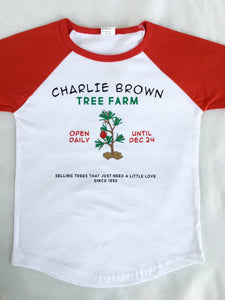 Charlie's Tree Farm (Boy or Girl!) SHIRT ONLY