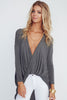 Cherish Deep Plunging Neckline top