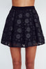 English Factory- Flower Print Skirt