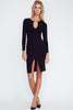 Lac Bleu Cut Out Dress