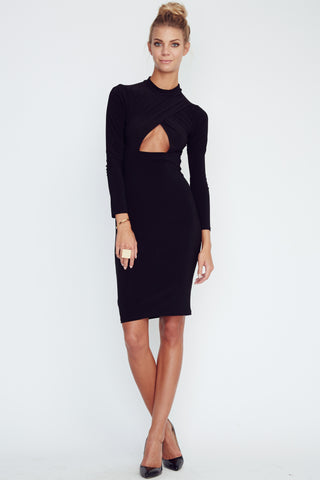 Triangle Cut Out Dress