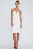 Sole Mio going out dress-White