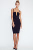 Sole Mio Going Out Dress-Black