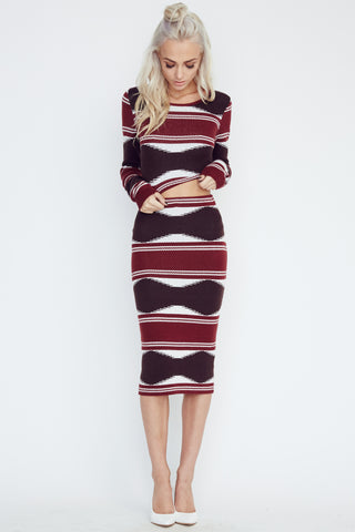 Olivaceous Pencil Skirt