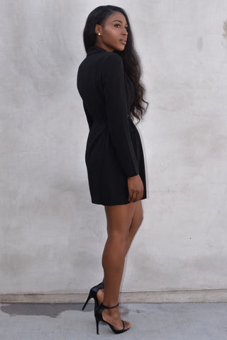 Blazer look dress