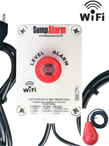 Sump Alarm Wireless High Level Alarm with SludgeBoss Float Switch - Level Sense (by Sump Alarm Inc.)
