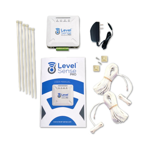 Level Sense Facilities - Wi-Fi Enabled Temperature, Humidity, Leak Monitor with Back-Up Battery - Level Sense (by Sump Alarm Inc.)